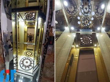 Mẫu thang máy gia đình đẹp
